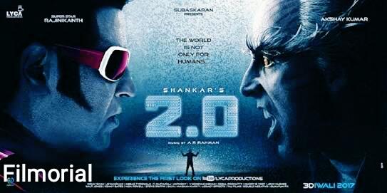 रोबोट 2.ओ 2.O Bahubali का रिकॉर्ड। रिलीज़ से पहले 2.O ने तोडा 550 करोड़ बजट