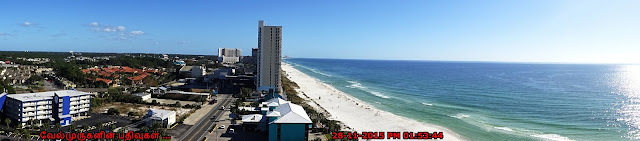 Panama City Beach Panoramic View