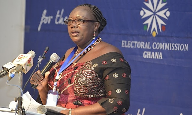 Deputy EC boss replies Charlotte Osei on signed GH₵39m contract