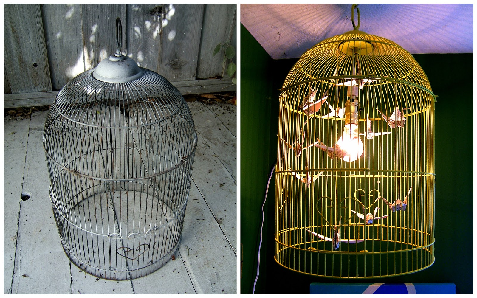 Nine red how to bird cage chandelier how to bird cage chandelier aloadofball Image collections