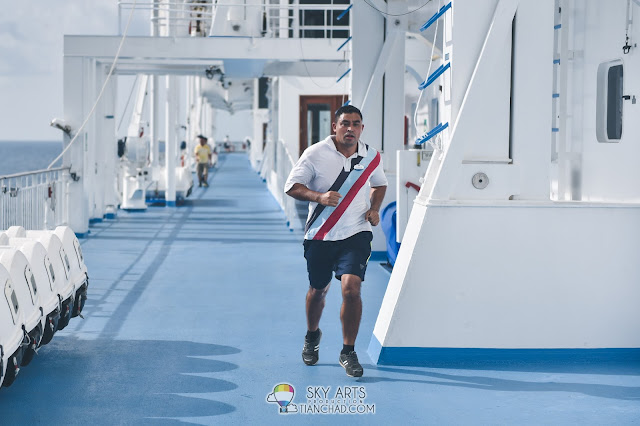 Star cruises Superstar Libra 丽星邮轮 天秤号 3D2N 槟城 普吉岛 Penang Phuket starcruises libra 船上跑步
