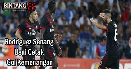 Rodriguez Senang Usai Cetak Gol Kemenangan