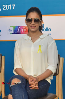 Actress Rakul Preet Singh at Endometriosis Awareness Walk at Apollo Cradle  0057.jpg