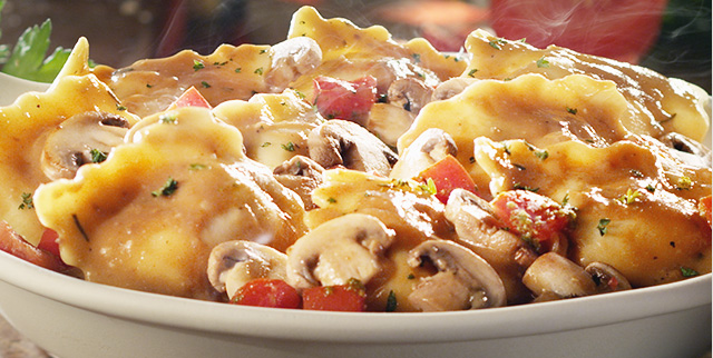 """New """"FlavorFilled"""" Pastas at the Olive Garden 