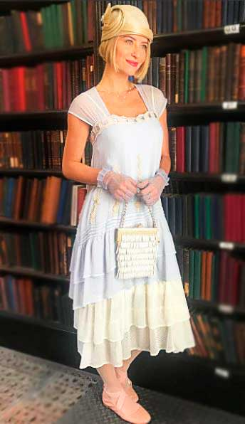 Celina vestido anos 20