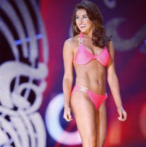Miss Ohio America swimsuit bikini
