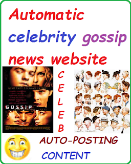 Ready Monetized Celeb News Website