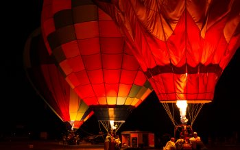 Wallpaper: Sonoma County Hot Air Ballon