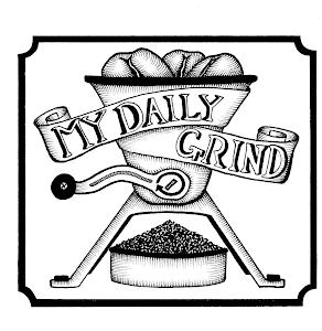 My Daily Grind (logo by @tim_illustrator)