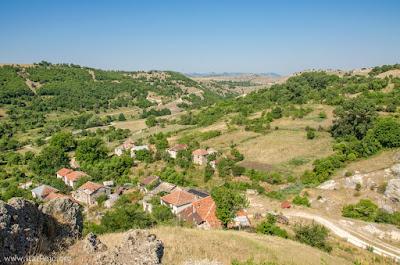 Panorama Gradesnica village, Mariovo