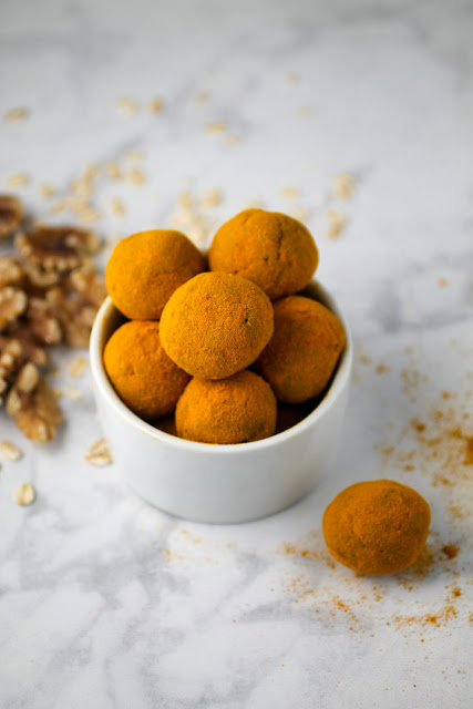 Turmeric Date Balls - 101 Healthy Snack Recipes