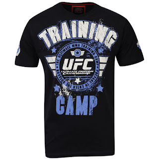 UFC Men's Training Camp T-Shirt - Black
