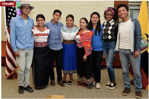 """Ocho estudiantes universitarios viajaron a Estados para participar en el programa """"Diversidad Cultural"""""""