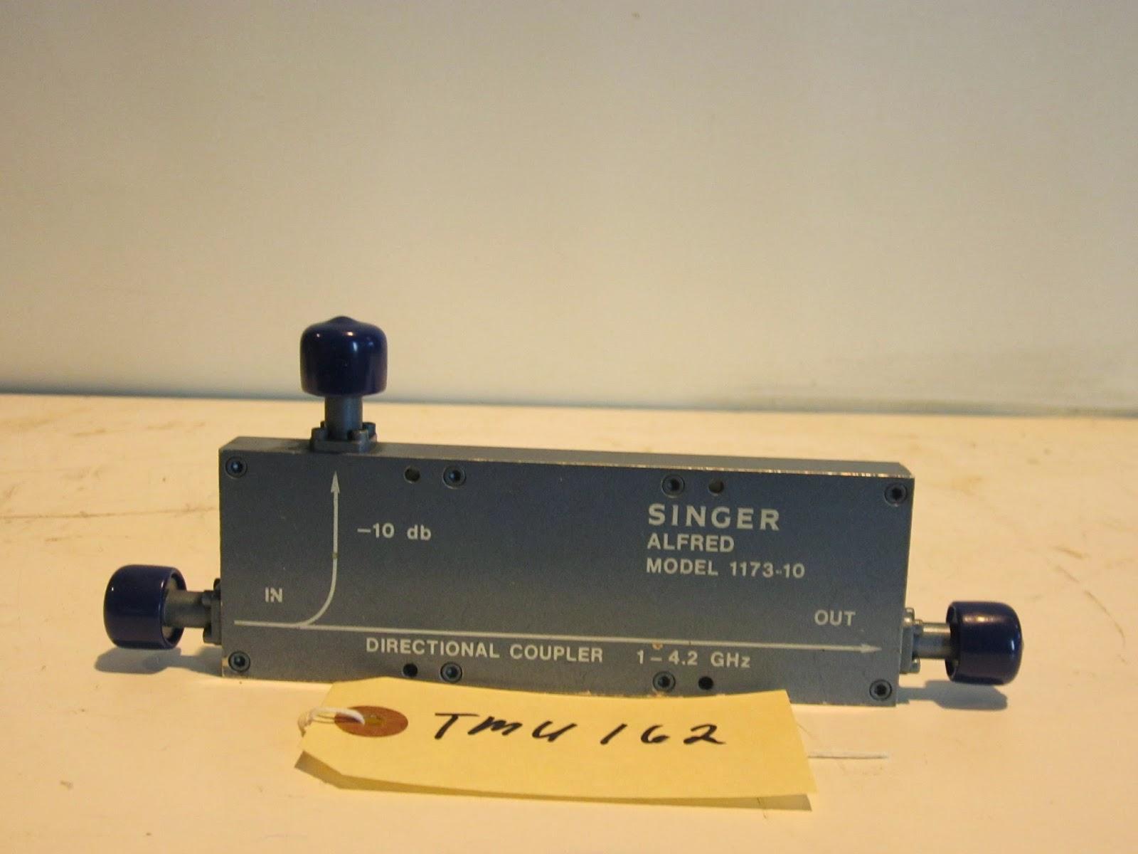 Alfred 1173-10 Coaxial Directional Coupler 10dB (TMU162