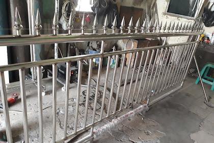Jasa Pembuatan Pintu Pagar Stainless di Bandung dan Sekitarnya