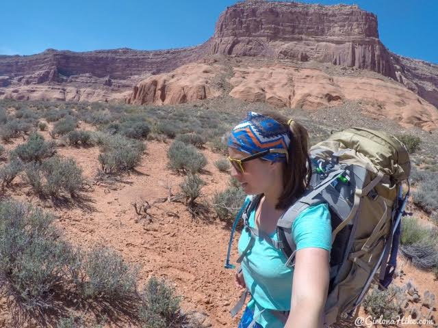 Backpacking to Reflection Canyon, Lake Powell, Utah