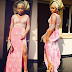 Checkout Rita Dominic's gorgeous look for a wedding today