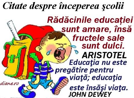 citate despre scoala Citate despre începerea şcolii   diane.ro citate despre scoala