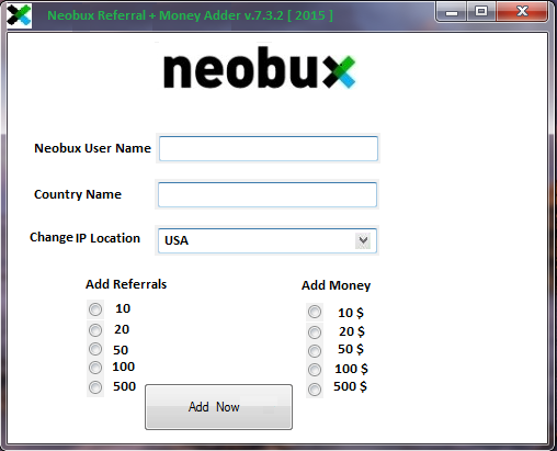 neobux cash adder