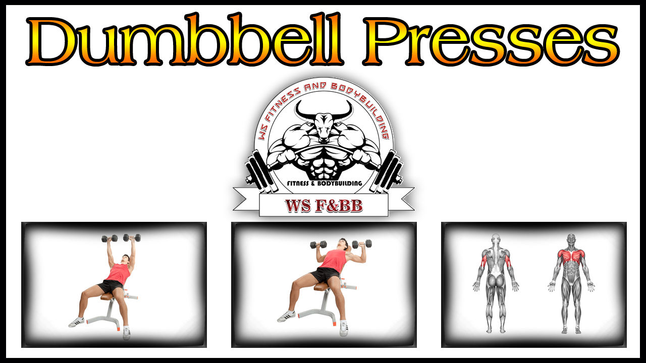 Dumbbell Press Upper Chest Workout For Men By WS Fitness And Bodybuilding