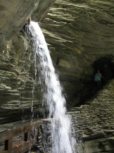 Cavern Cascade at Watkins Glen