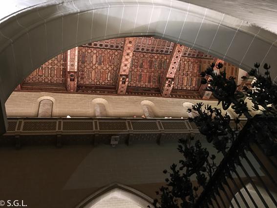 Techumbre policromada catedral de Teruel. Visitando Teruel