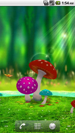 Android vantage point review for best latest android - Mushroom 3d wallpaper free download ...