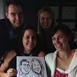Laurel Hawkswell - Edmonton Artist: Caricatures at EPS Victim Services Unit Advocates Volunteer Appreciation