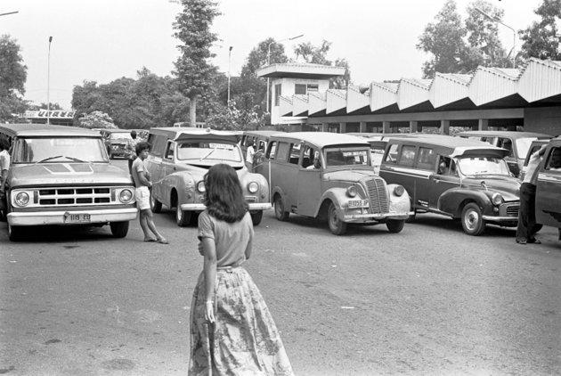 Wahyudi Blog Foto Kendaraan Jadul Jakarta Tempo Dulu