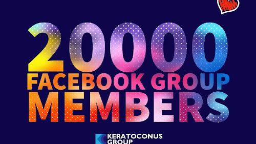 20,000 Facebook Group Members