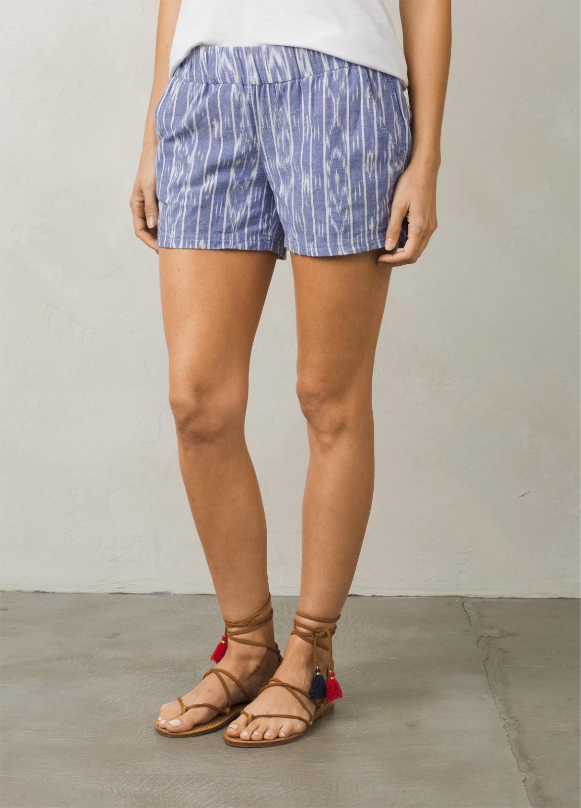 Prana Cobalt Shorts