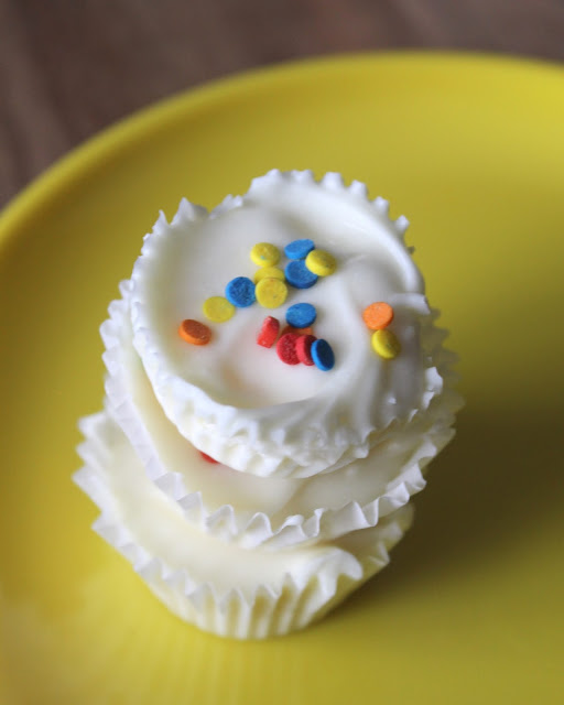 Little Bites Birthday Cake Muffins