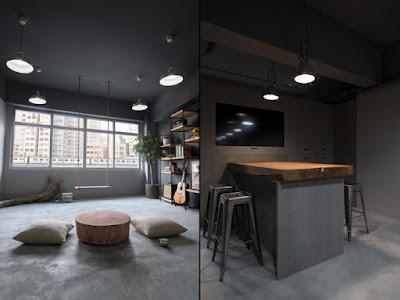 Thiết kế văn phòng mới lạ, độc đáo