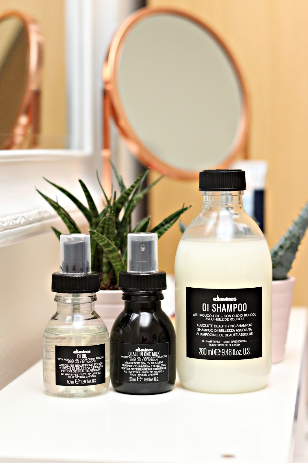 The Davines Oi Range