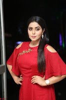 Poorna in Maroon Dress at Rakshasi movie Press meet Cute Pics ~  Exclusive 143.JPG