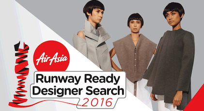 AirAsia Runway Ready Designer Search 2016