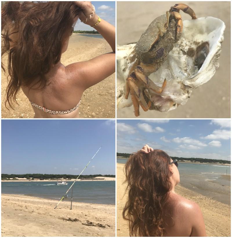 Huelva playas de El Rompido e isla La Flecha