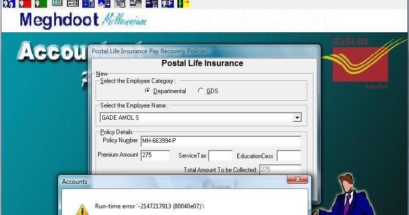 postal life login