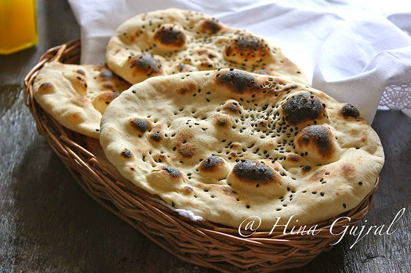 Naan (Without Yeast) Recipe