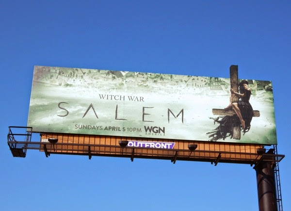 Salem season 2 special extension billboard