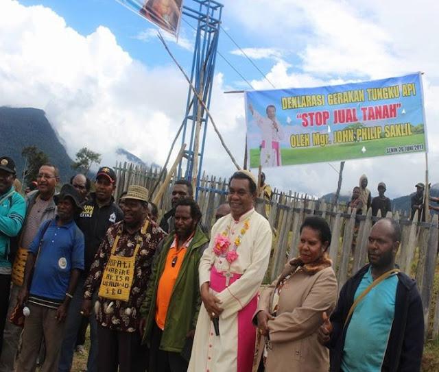 Uskup Timika: OAP Tidak Bisa Hidup Tanpa Tanah