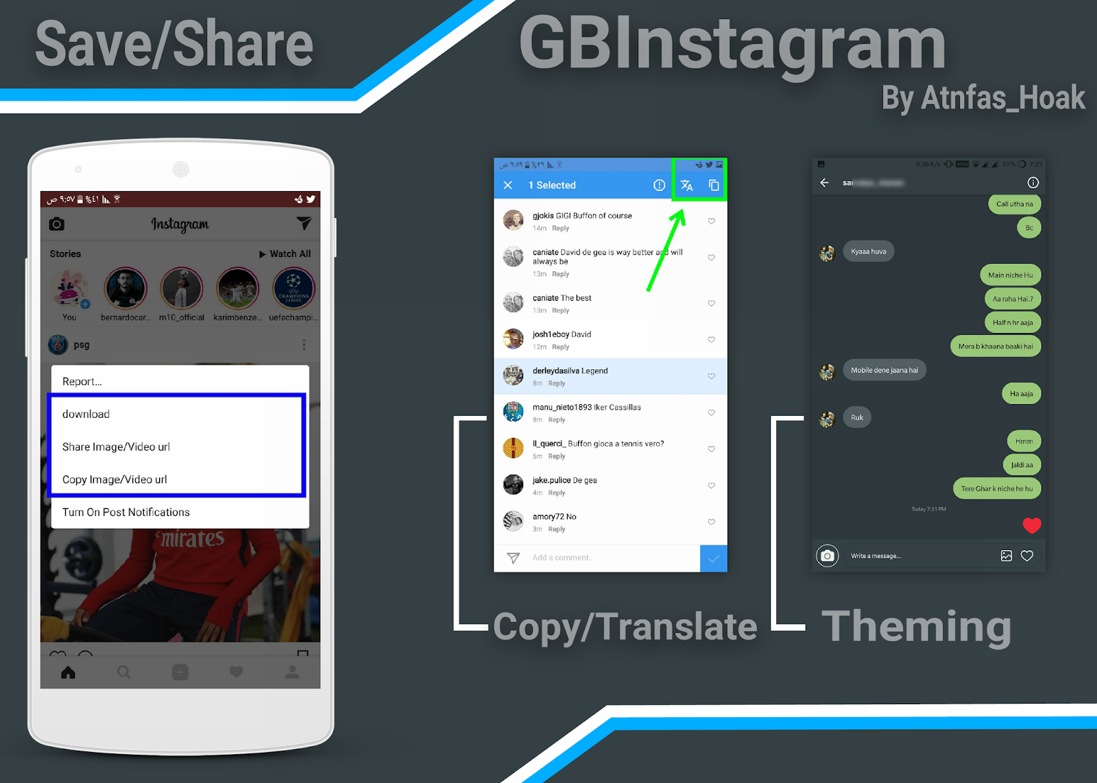 Gb instagram themes download