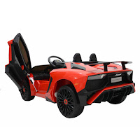 lamborghini aventador sv official licensed battery toy car