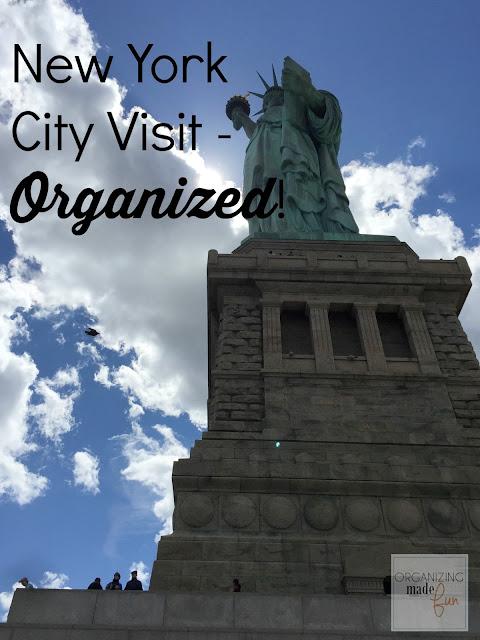NYC Visit Organized