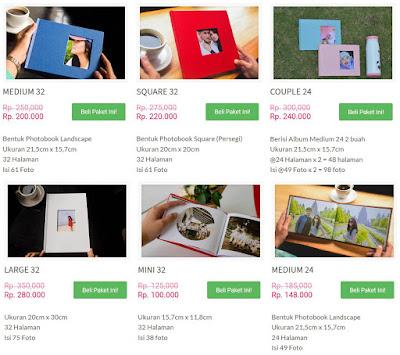 Cetak Foto di Idphotobook, Proses Paling Gampang Hasil Memuaskan pilihan paket cetak album foto