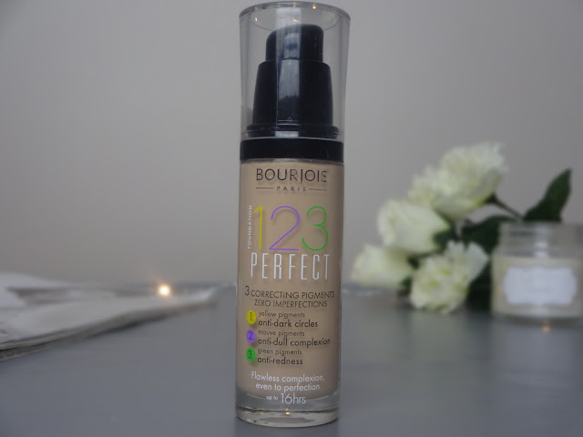 Bourjous 123 Perfect Foundation Review 1