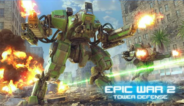 史詩般的星際戰爭塔防遊戲 - Epic War TD 2