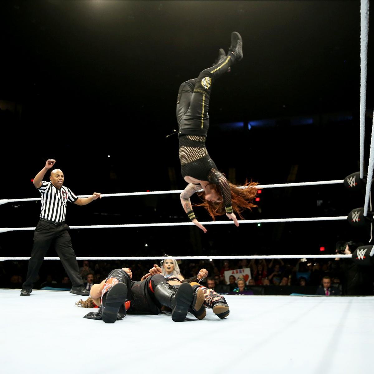 Enjoyment after wrestling