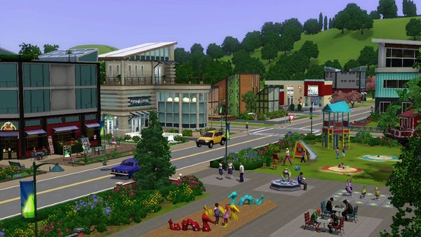 The Sims 3 Town Life Stuff Full Version For FREE