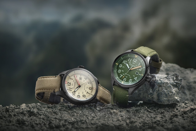 Get set for action with WR100 gents watches from CITIZEN